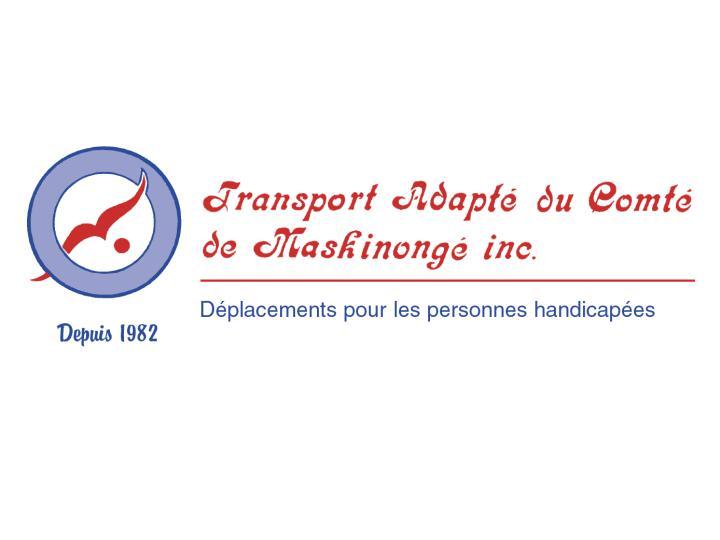 Logo Transport adapté du Comté de Maskinongé